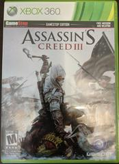 Assassin's Creed III [Gamestop Edition] Xbox 360 Prices