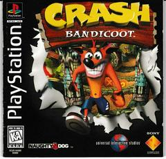 Manual - Front | Crash Bandicoot Playstation