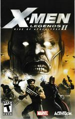 Manual - Front   X-men Legends 2 Playstation 2