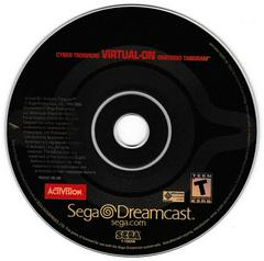 Game Disc | Virtual-On Oratorio Tangram Sega Dreamcast