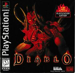 Manual - Front | Diablo Playstation