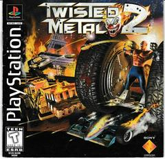 Manual - Front | Twisted Metal 2 Playstation