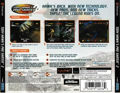Back Of Case | Tony Hawk 2 Sega Dreamcast