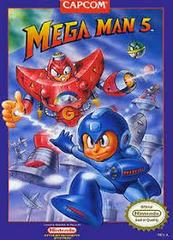 Mega Man 5 - Front | Mega Man 5 NES
