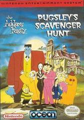 Addams Family Pugsley's Scavenger Hunt PAL NES Prices