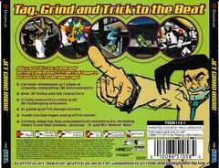 Back Of Case   Jet Grind Radio Sega Dreamcast