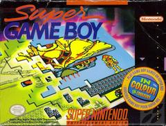 First Release. | Super Gameboy Super Nintendo