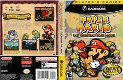 Artwork - Back, Front (Players Choice) | Paper Mario Thousand Year Door Gamecube