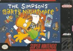 The Simpsons Bart's Nightmare Cover Art