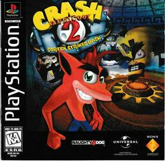 Manual - Front | Crash Bandicoot 2 Cortex Strikes Back Playstation
