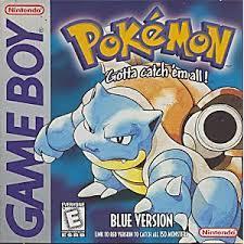 Pokemon Blue - Front | Pokemon Blue GameBoy
