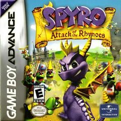 Spyro Attack of the Rhynocs GameBoy Advance Prices