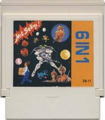 Cartridge | Caltron 6-in-1 NES