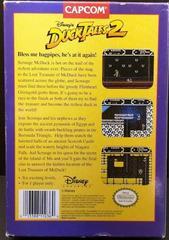 Duck Tales 2 - Back | Duck Tales 2 NES