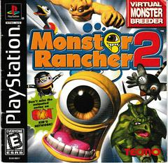 Manual - Front | Monster Rancher 2 Playstation
