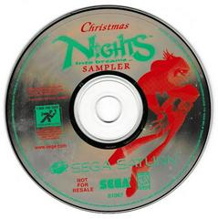 Game Disc | Christmas Nights into Dreams Sega Saturn