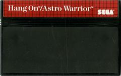 Hang-On And Astro Warrior - Cartridge | Hang-On and Astro Warrior Sega Master System