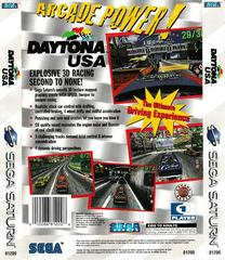 Back Of Box | Daytona USA Sega Saturn
