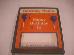 Birthday Mania Atari 2600 Prices
