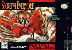 Secret of Evermore Super Nintendo Prices