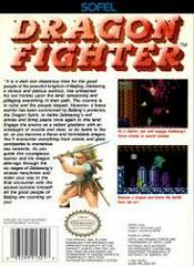 Dragon Fighter - Back | Dragon Fighter NES