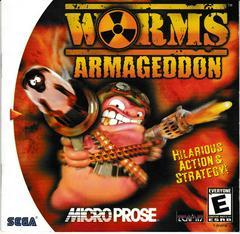 Manual - Front | Worms Armageddon Sega Dreamcast