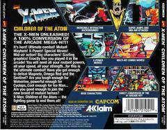 Back Of Case | X-Men Children of the Atom Playstation