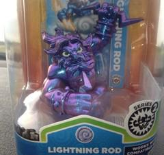 Lightning Rod - Giants, Purple, Metallic Skylanders Prices