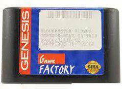 Blockbuster Game Factory Blue Sega Genesis Prices