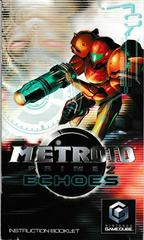 Manual - Front | Metroid Prime 2 Echoes Gamecube