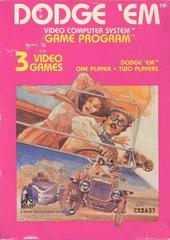 Dodge 'Em Atari 2600 Prices