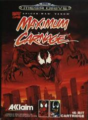 Spiderman and Venom: Maximum Carnage PAL Sega Mega Drive Prices