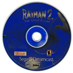 Game Disc | Rayman 2 The Great Escape Sega Dreamcast