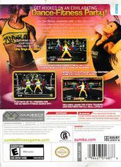 Back Of Box | Zumba Fitness Wii