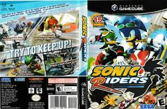 Artwork - Back, Front | Sonic Riders Gamecube