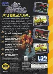 BC Racers - Back | BC Racers Sega 32X
