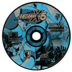 Game Disc   Mega Man X5 Playstation