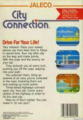 City Connection - Back   City Connection NES