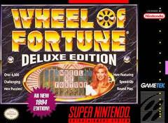 Wheel of Fortune Deluxe Edition Super Nintendo Prices