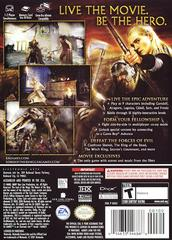 Case - Back | Lord of the Rings Return of the King Gamecube