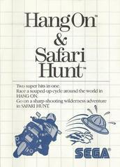 Hang-On And Safari Hunt - Instructions | Hang-On and Safari Hunt Sega Master System