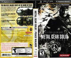 Artwork - Back, Front | Metal Gear Solid: Peace Walker PSP