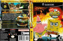 Artwork - Back, Front (Players Choice) | SpongeBob SquarePants The Movie Gamecube