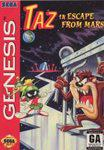 Taz in Escape from Mars Sega Genesis Prices