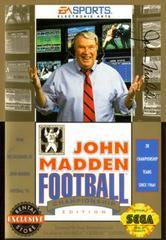 John Madden Football '93 Championship Edition Sega Genesis Prices