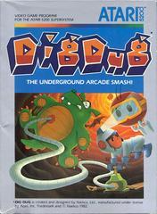 Dig Dug - Front | Dig Dug Atari 5200