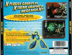 Back Of Case | Mega Man X4 Playstation