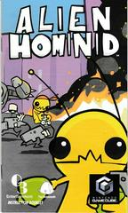 Manual - Front | Alien Hominid Gamecube