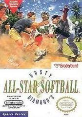 Dusty Diamond'S All-Star Softball - Front   Dusty Diamond's All-Star Softball NES