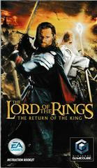 Manual - Front | Lord of the Rings Return of the King Gamecube